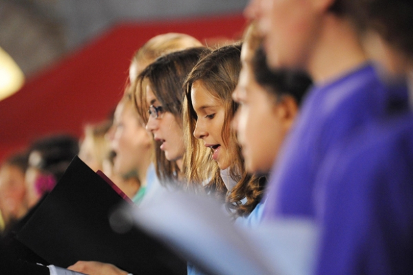 Concerto per la Pace dell'Orchestra Internazionale Pequeñas Huellas - 24 Settembre 2011