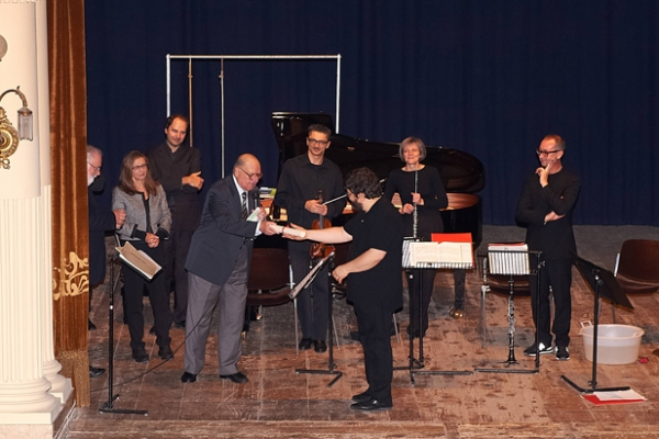 Carlo Boccadoro e l'Ensemble Sentieri Selvaggi - 10 Novembre 2011