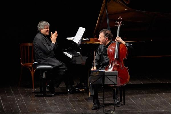 Luigi Piovano e Sir Antonio Pappano - 07 Novembre 2015